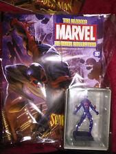 RARE, EAGLEMOSS, Collezione di figurine classico MARVEL, numero 197: SPIDER-MAN 2099
