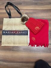 More details for mariah carey tour vip nation exclusive fan gifts hat scarf tote bag