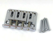 Chrome Finish 4-string Electric Mandolin Bridge MB-1508-010