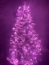 CATENA LUMINOSA 300 LED  NATALE ADDOBBI PINK ROSA 31V INTERNO ESTERNO CHRISTMAS
