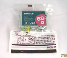 Epson T0683 T068320 68 Magenta Ink Cartridge High Capacity of T0693 T069320 69