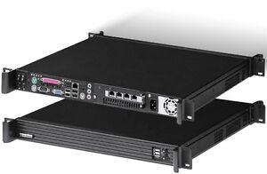 "1U (EFAP-M251 PSU) (D:14.4"")(Micro-ATX / ITX)(Rackmount Chassis)(4 Bay Case) NEW"