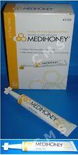 Derma Sciences MEDIHONEY Wound & Burn Dressing Paste 0.5oz 15mL Manuka Honey Gel