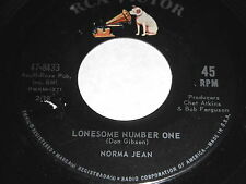 Norma Jean: Lonesome Number One / Go Cat Go 45