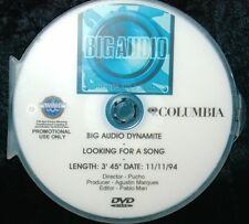 BIG AUDIO DYNAMITE Looking For A Song Promo Music Video DVD (NOT A CD) The Clash