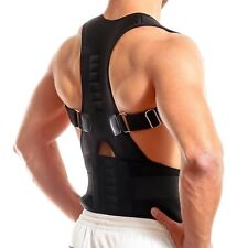Posture Corrector Support Magnetic Back Shoulder Brace Belt Adjustable Men Women