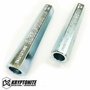 Kryptonite Zinc Plated Tie Rod Sleeves fits 1999-2010 GMC / Chevy 1500 2500 3500