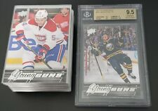 2015-16 Upper Deck Series 2 Complete Set Young Guns Eichel YG 9.5 bgs Gem Mint