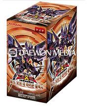 "YUGIOH CARDS  ""LORD OF THE TACHYON GALAXY"" BOOSTER BOX / Korean Ver"