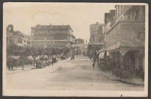 Postcard Skikda formerly Philippeville in French Algeria street scene 1928