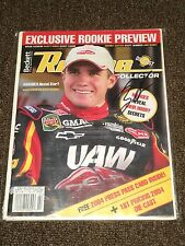 Brian Vickers Signed In Person Beckett Racing Complete Magazine