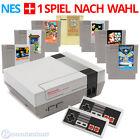 Original Nintendo NES consola + 2 Mando + Paquete de accesorios (no NES Mini