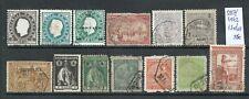 Macau 1887/1942 - 13 stamps used