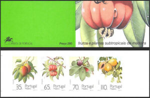 Madeira 1991 Plants and their Fruit, Complete Booklet. Portugal UNM / MNH