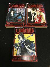 GODCHILD Volumes 1-3 Kaori Yuki SHOJO BEAT MANGA
