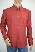 Hugo Boss Camisa manga larga para hombre estampado de cuadros y cuello clásico