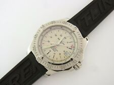 Breitling Colt Automatic A17380 41 mm Edelstahl Kautschukband Steel Rubber strap