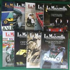 LA MANOVELLA (2011) Lotto 9 Riviste 1 3 5 6 7 9 10 11 12 ANNATA QS CPL Magazine