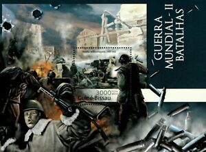 Guinea-Bissau 2012 - Battles of World War II, Stalingrad - Souvenir Sheet - MNH