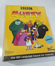 MUZZY Childrens BBC Language Course VHS German Home School Animated CD Cassette