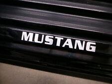(2pcs) MUSTANG doorstep badge decal MUSTANG