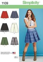 Simplicity PATRON COUTURE FEMMES' Jupes LONGUEUR & bordure VARIATIONS 6 - 22