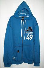 Adidas NEW Mens Varsity Vintage Fleece Zip Hoodie Jacket 023811 Medium M $55