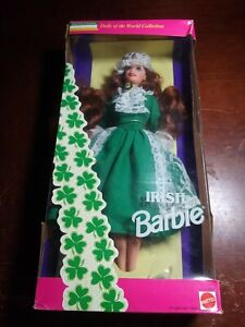 Irish Barbie Doll Special Edition 1994. Dolls Of The World Collection