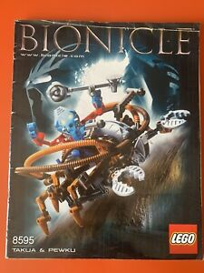 Notice LEGO 8595 - Bionicle
