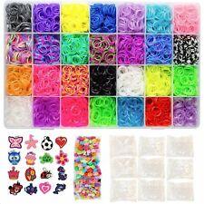 Totem World 11000 Pc Rainbow Color Loomy Rubber Bands Mega DIY Refill - 10500...