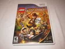Indiana Jones 2 The Adventure Continues (Nintendo Wii) Complete Excellent!