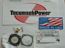 Carb Kit For Tecumseh Jiffy Ice Auger Model 30 And 31 GENUINE USA MADE TECUMSEH