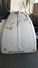 Vintage Volkswagen Beetle Bonnet 1970's Era Unusual markings One of a kind!