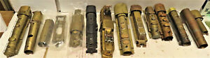 BRASS STEAM AND DIESEL SHELLS AND BRASS SPARE PARTS ( PARTS ONLY) HO SCALE 15LOT