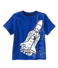 Gymboree Nwt Space Rocket Ship Shirt Mix N Match T-Shirt Top Tee Boy 18-24 M