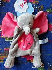 Peluches et doudous Nicotoy d'éléphant pour bébé
