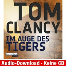 Hörbuch-Download (MP3) ★ Tom Clancy: Im Auge des Tigers