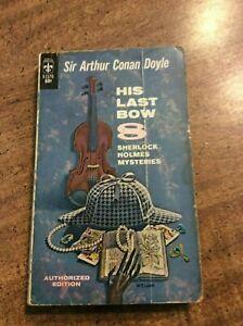 Sir Arthur Conan Doyle HIS LAST BOW: 8 SHERLOCK HOLMES MYSTERIES  paperback