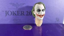Hot Toys Exclusive DX11 Dark Knight 1/6 Joker 2.0 action figure's Head sculpt