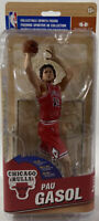McFarlane Pau Gasol NBA Series 27 Chicago Bulls Red Jersey
