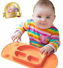 Mini EasyMat  for Highchair and Travel Feeding. Portable Baby Suction Plate   Pl