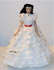"""Franklin Mint GWTW Scarlett O'Hara FOR THE LOVE OF TARA16"""" Vinyl Portrait Doll"""
