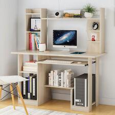 Corner Computer Desk PC Gaming Table kid Shelves Home Office Workstation Desktop