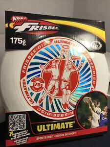 Wham-O Ultimate Frisbee Sports Disc Red White & Blue 175 gram L1