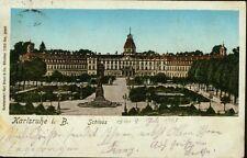AK.Karlsruhe i. B.,Schloss /gel.1903,mit Briefmarke