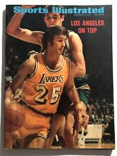 1971 Sports Illustrated LOS ANGELES Lakers GAIL GOODRICH No Label CHAMBERLAIN
