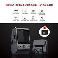 Dual Channel Viofo A129 Duo F1.6 Wi-Fi Mini DVR + Module GPS et Carte gratuite