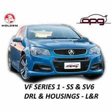 Bumper Bar DRL Lamp & Black Housing Kit for VF SV6 & SS Series 1 Pair