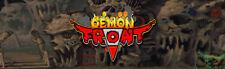 "Demon Front Arcade Marquee 26"" x 8"""