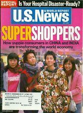 2006 U.S. News & World Report Magazine: Super Shoppers/China & India Consumers